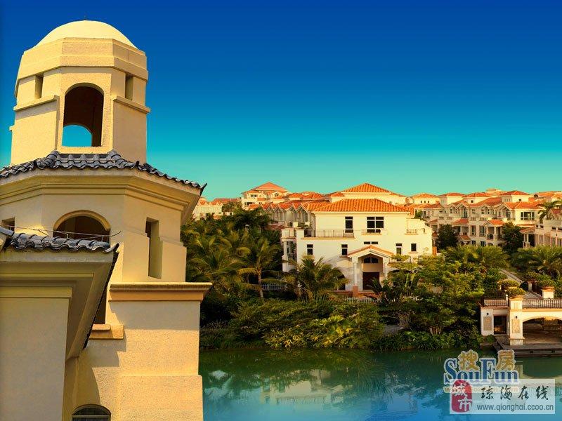 长信半岛美庐首期推出的别墅群以两大超22000平米生态湖区为中心