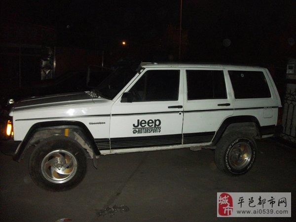 转让01年北京吉普213高清图片