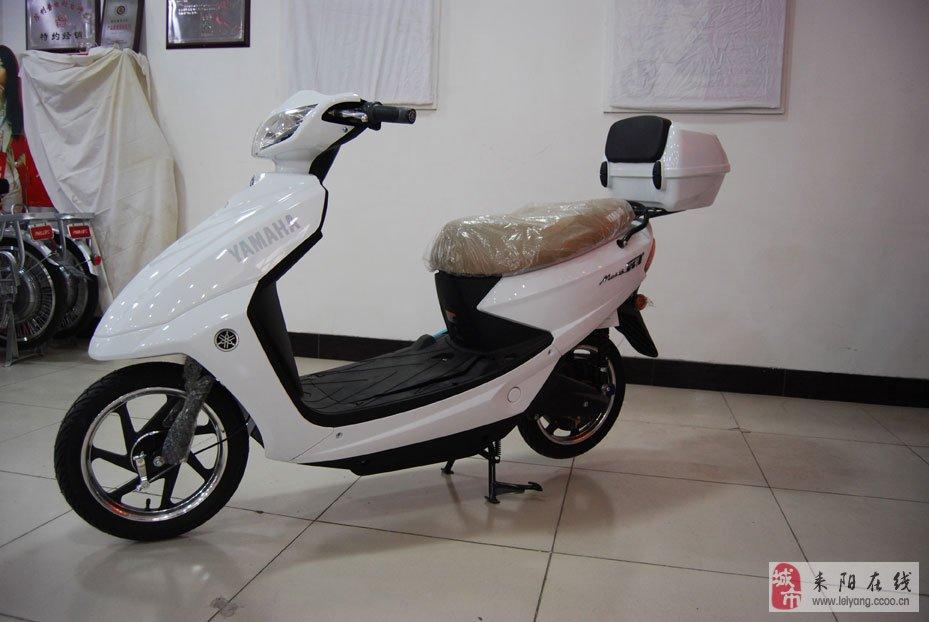 急售九成新的雅马哈踏板电动车800元