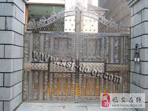 不锈钢智能庭院门 临安庭院门