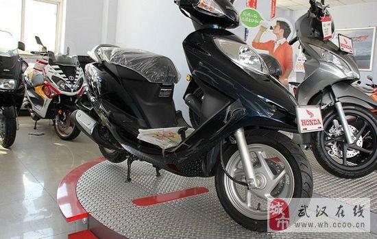 五羊本田佳颖125 摩托车价格 本田125踏板车