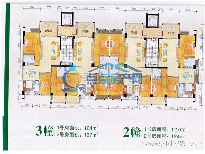 潮州恒大城户型图