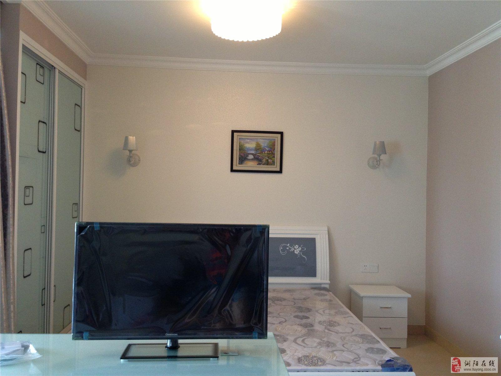 鸿宇公馆一室一厅一厨一卫五十几平米高档精装修房出租
