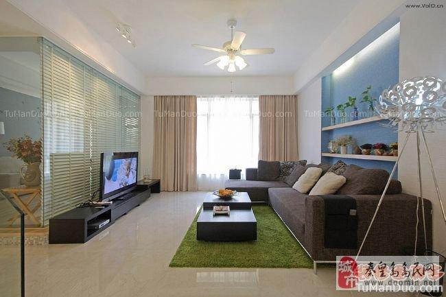 屋顶石膏线效果图 墙壁装饰客厅墙壁颜色 室内设计装修效