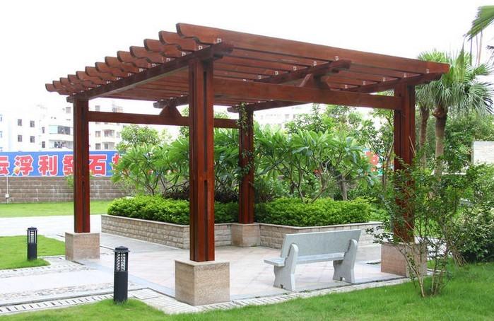 花园钢结构亭子