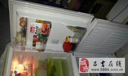 海尔双开门冰箱