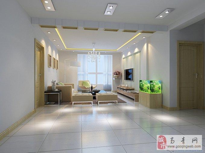 室内中西式装修,集成吊顶,电视沙发背景墙,橱柜壁橱带
