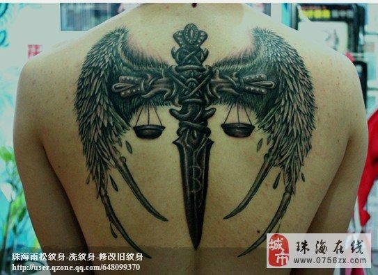 珠海雨松刺青-专业遮盖疤痕,修改旧纹身,洗纹身.