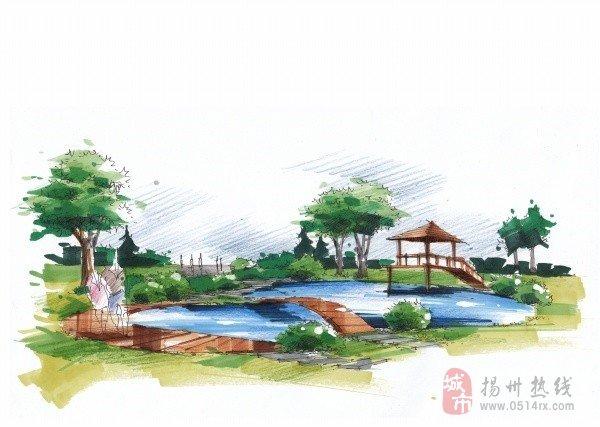 扬州园林景观设计培训班/园林c图片