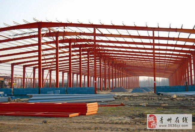 专业安装钢结构厂房,车间,二层工地房