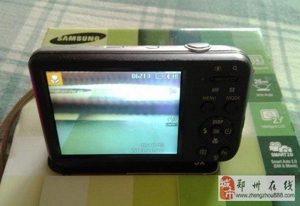 郑州建设路三星PL120数码相机