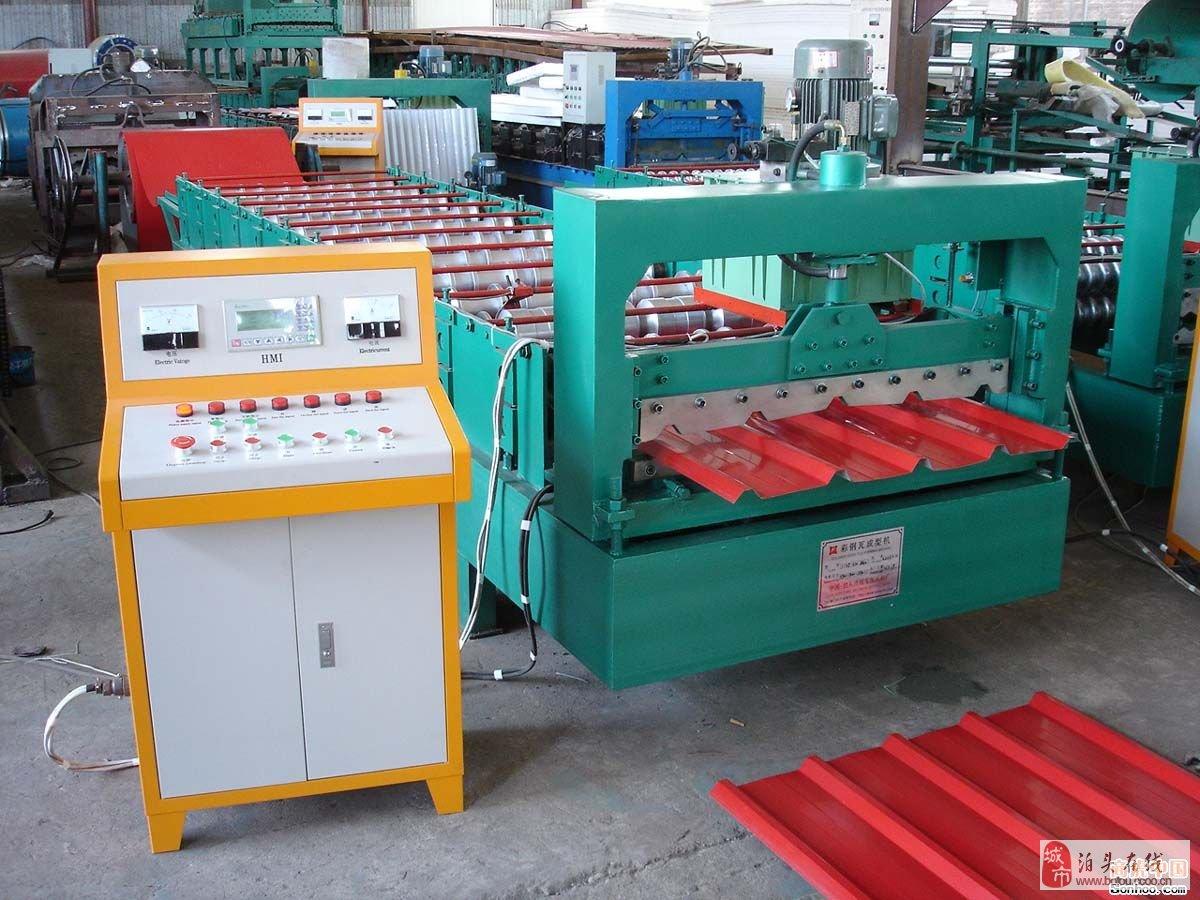 压瓦机plc控制电路图