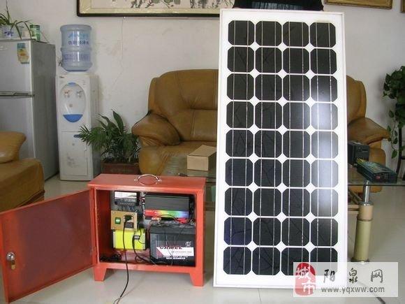 家用太阳能发电应急设备图片