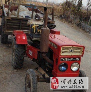 出售15拖拉机,带车斗,带水泵
