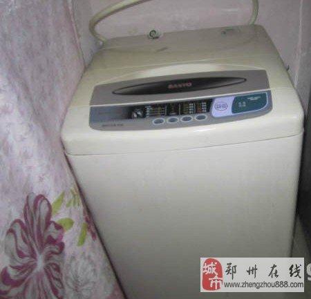 郑州金水区三洋牌全自动洗衣机-600元