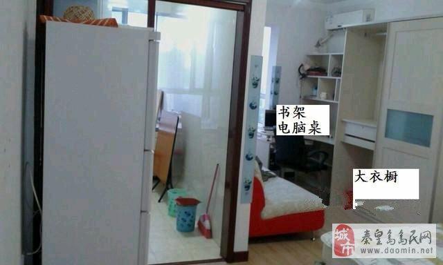 文博城1室1厅40平米豪华装修押一付三出租住房 高清图片