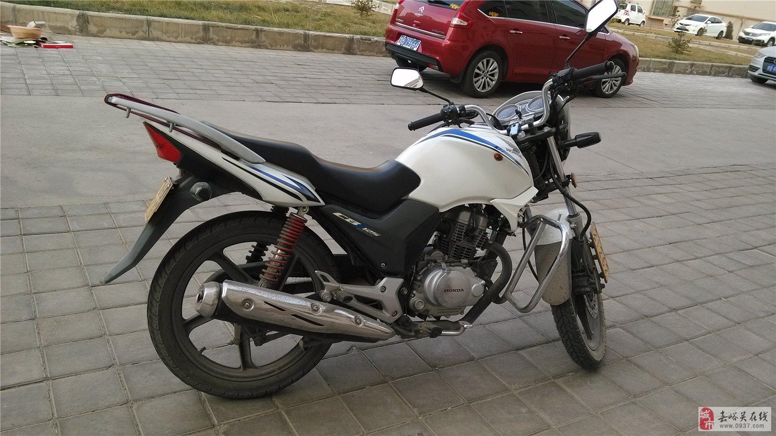 新大洲本田125(小战鹰)摩托车出售