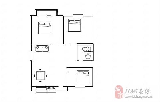 110平米三室两厅独栋平房设计图展示