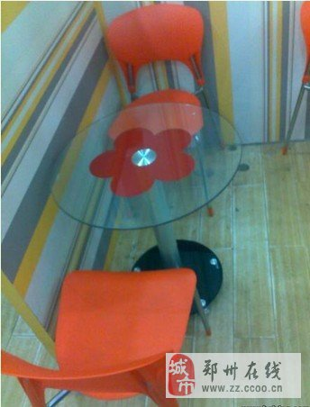 郑州九五成新两套时尚水吧桌椅