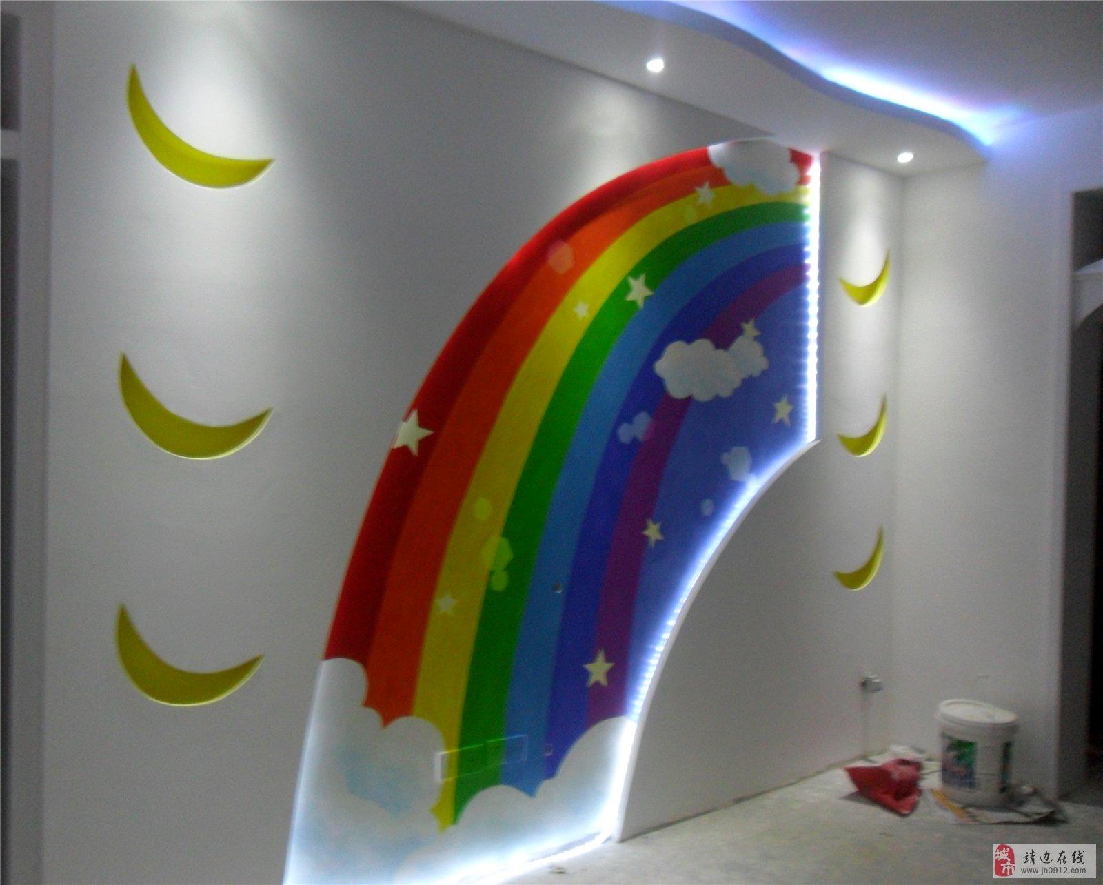 墙体彩绘,家装装潢