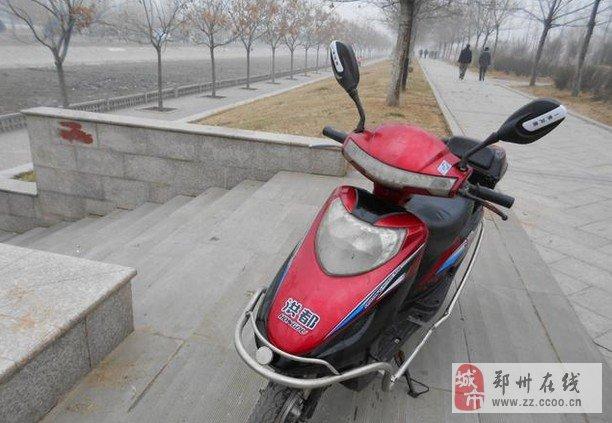 郑州转让洪都踏板电动车