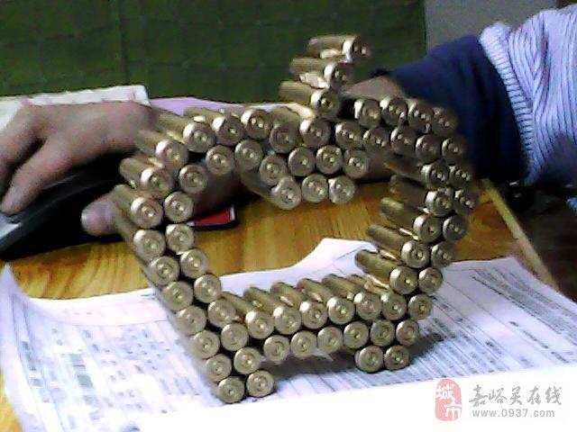 手工制作弹壳苹果工艺品 (640x480)