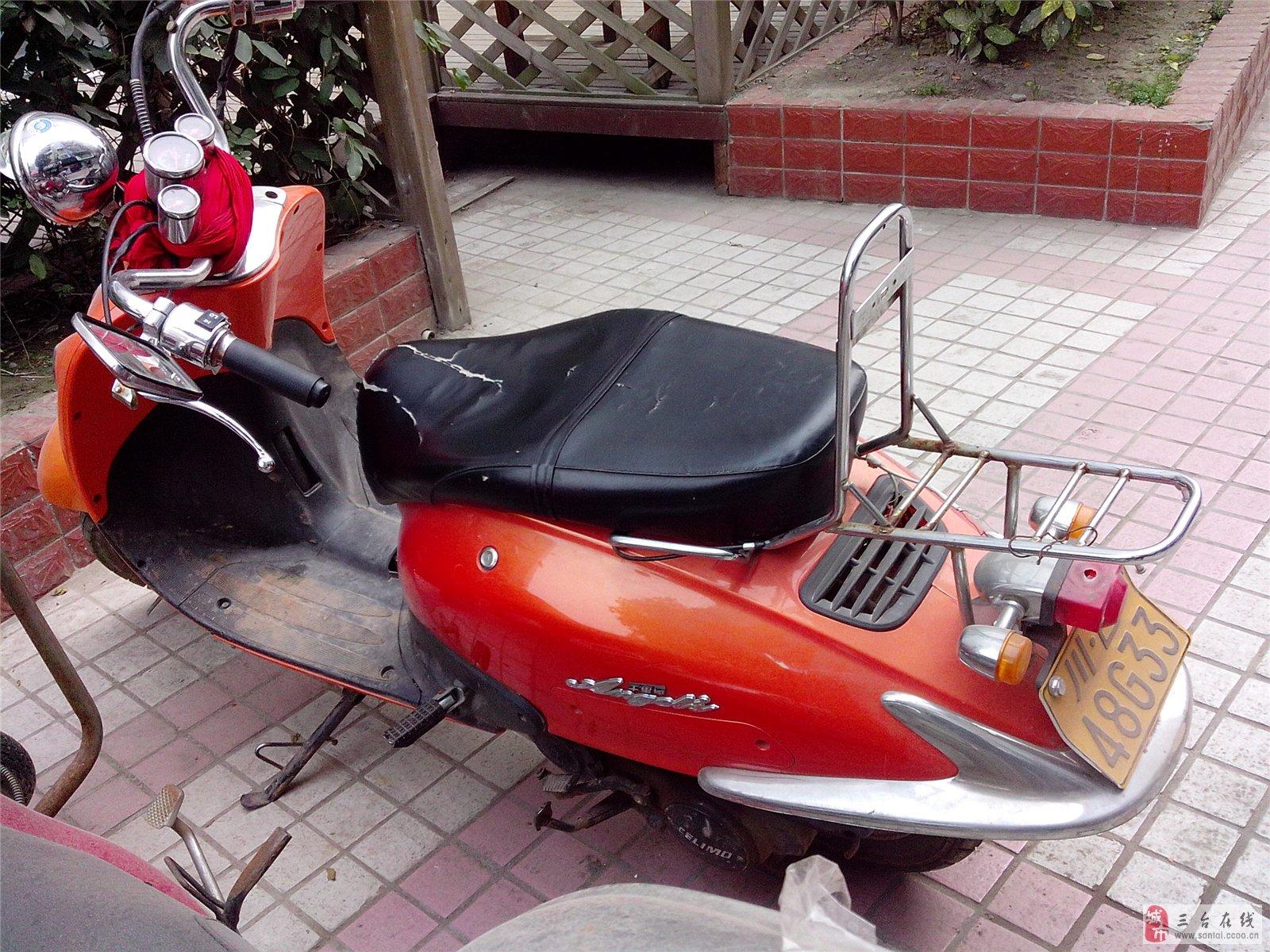 二手雅马哈踏板摩托车