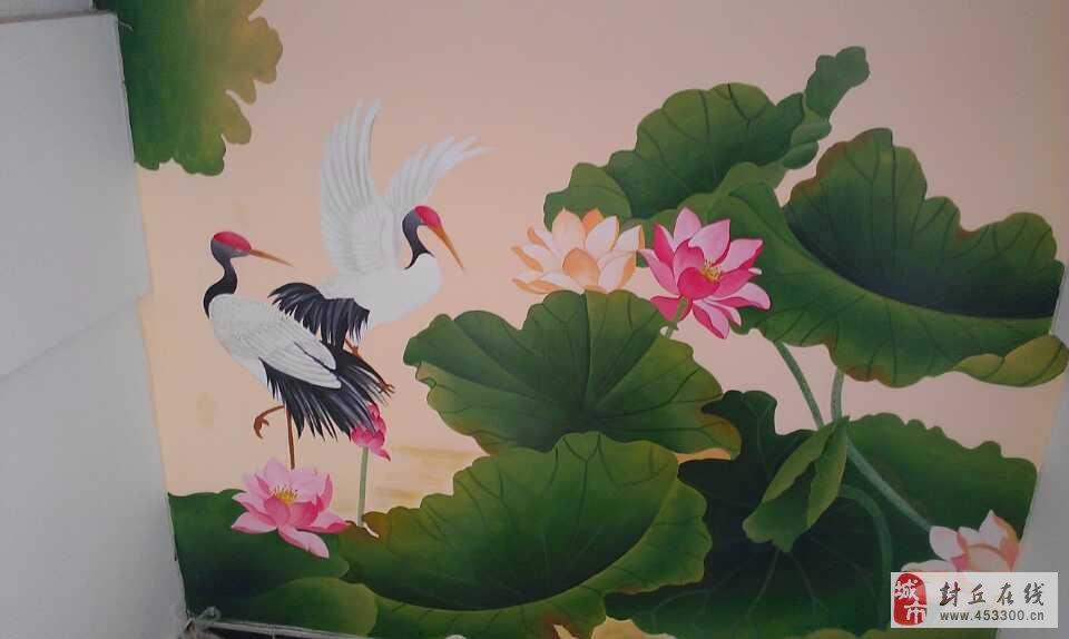 手绘墙绘画室内外墙体彩绘
