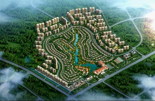 高州碧桂园凤凰城项目鸟瞰图