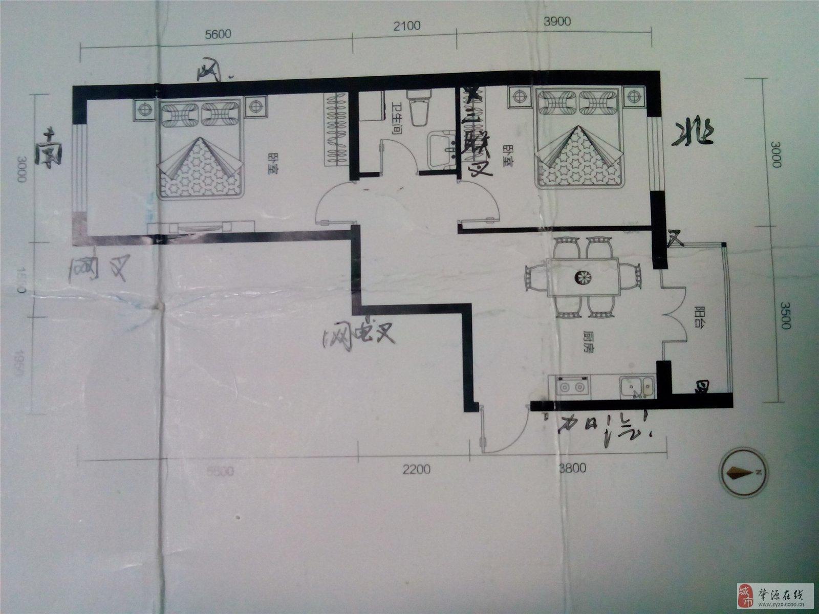 100平方米套房屋平面设计图 农村展示