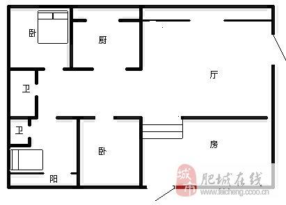 13米长4米宽房屋天井设计图展示