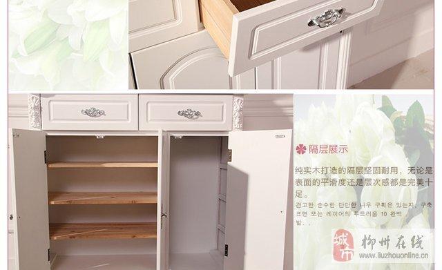 进门实木鞋柜 实木鞋柜装修效果图 实木鞋柜