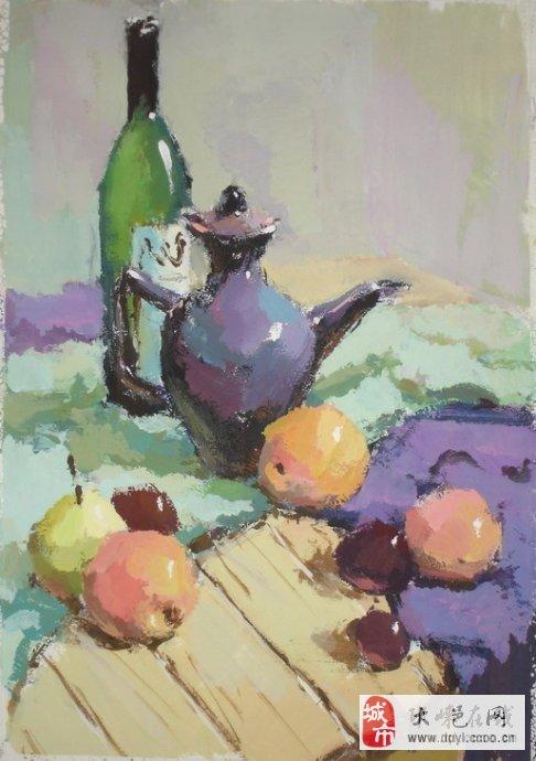 央美优秀油画静物-写实色彩,写实油画静物画法步骤,央