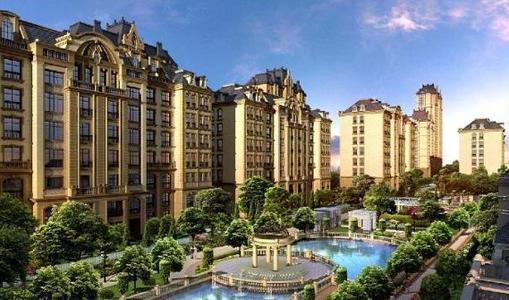 复式洋房,高层洋房等多种建筑类型,是寿光目前最高档的滨河法式风情社图片