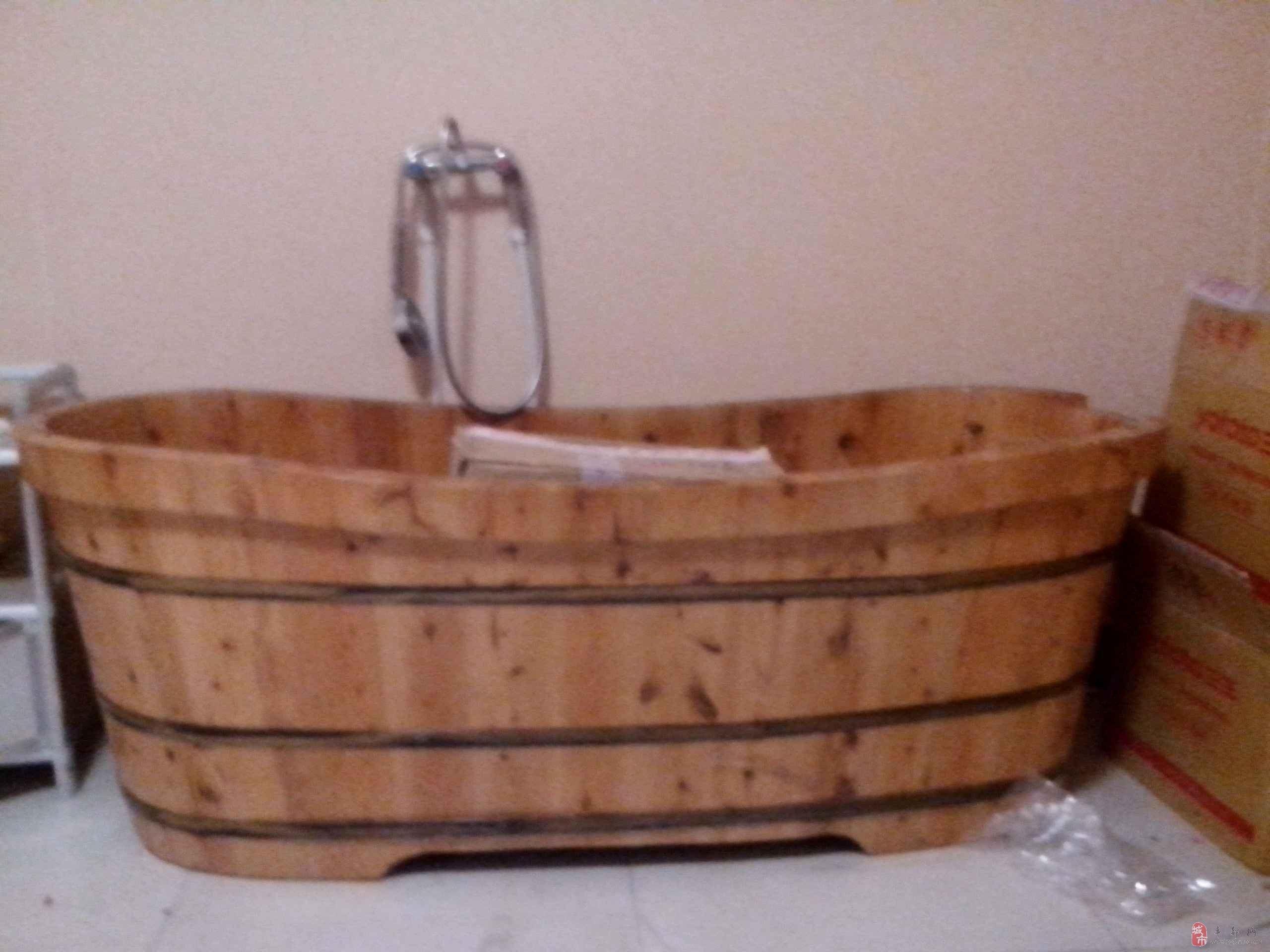 8米泡澡木桶  消毒柜 美容推车