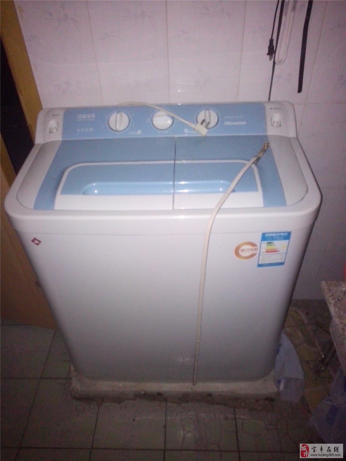 海信双桶半自动洗衣机