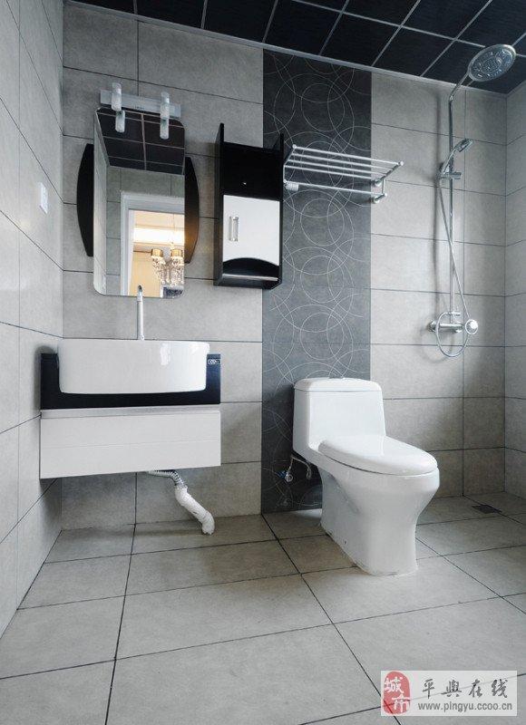 专业贴地板砖瓷砖,设计卫生间