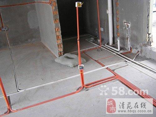 电路改造:开槽,布管