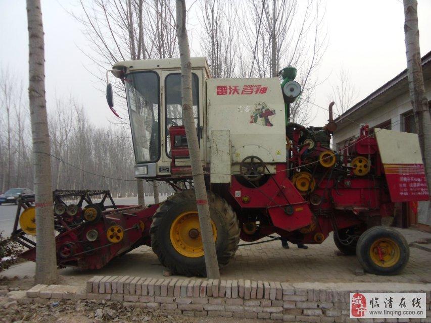 出售零九年麦克小麦联合收割机