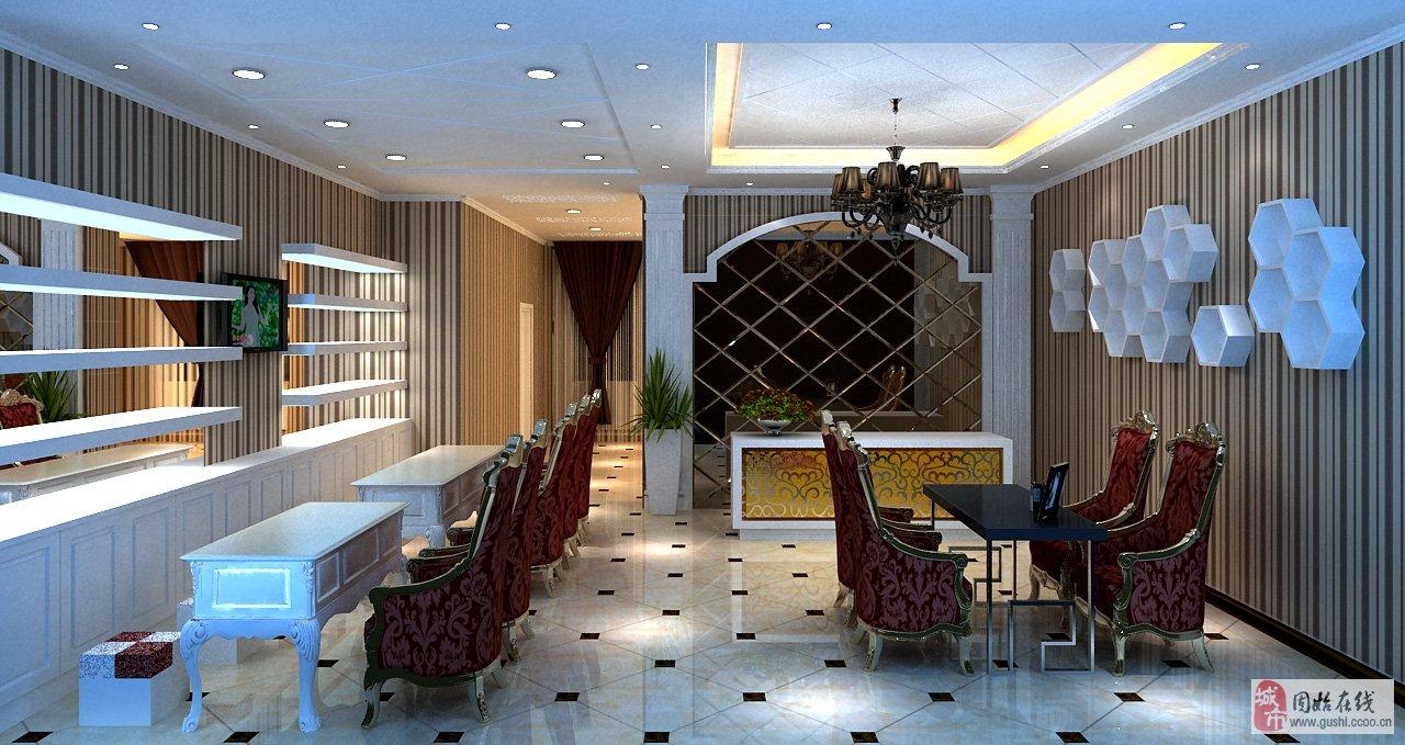 欧式的店面设计,精心的布置给顾客带来全新的美甲