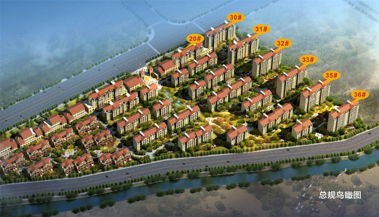 宝丰建业森林半岛小区楼盘规划图|户型图|实景图