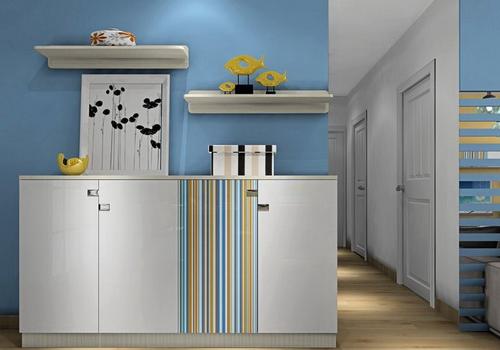 8款玄关装修设计图 OL填补客厅空洞