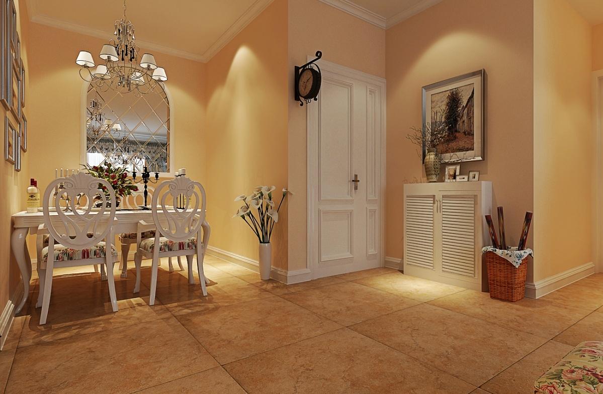 二居室 88平米 客厅装修效果图 田园风格 二居室 装修设计