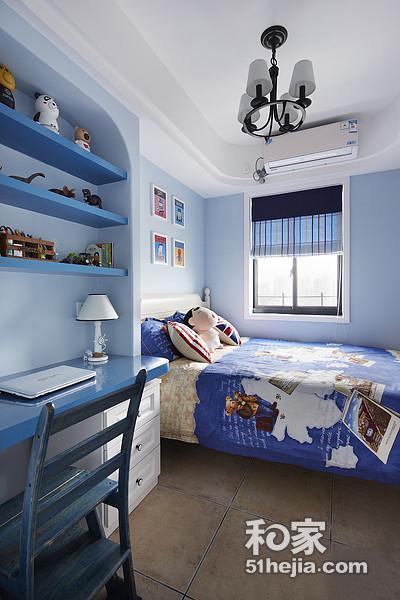 唯美85平地中海两居室