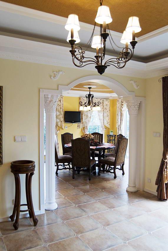 古典欧式典雅的客厅-叶开俊作品