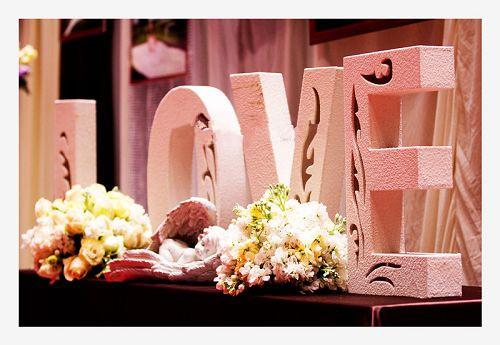 紫罗兰婚庆会场布置