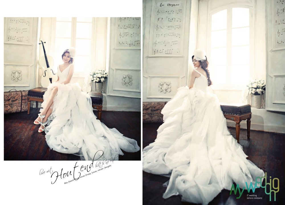 绝色新娘婚纱摄影