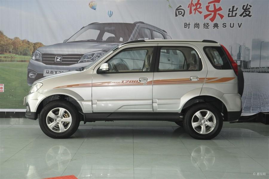众泰T200时尚经典多功能迷你SUV