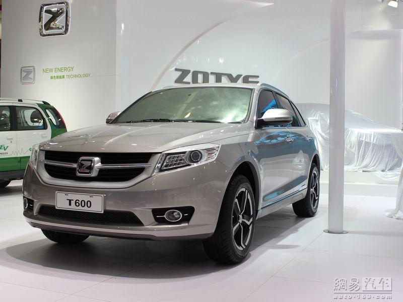 众泰T600澎湃上市 镇雄路易达汽车接受预订
