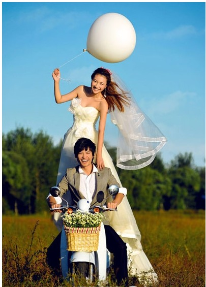 8090后婚纱摄影